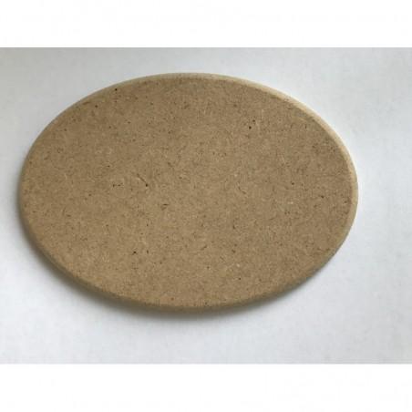 Owalna tabliczka z MDF - medalion 10x7 cm