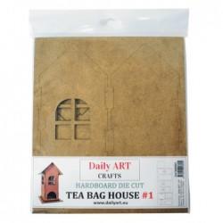 Herbaciarka z HDF, Domek 1 - Daily Art