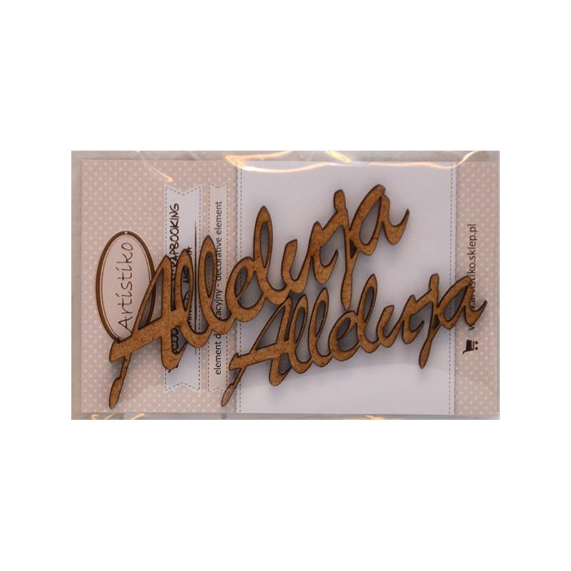 Napisy z HDF, Alleluja - dekoracje wielkanocne