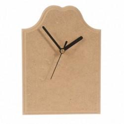 Zegar z tabliczki MDF z frezem