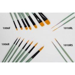 Pędzel złoty syntetyk literniczy J1010RL-2