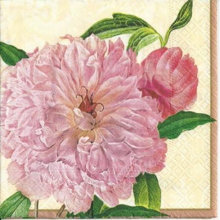 Serwetka do decoupage z różowymi różami