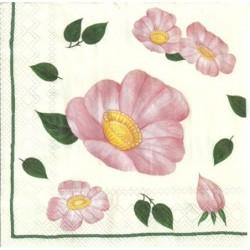 Serwetka - Dzika róża 2