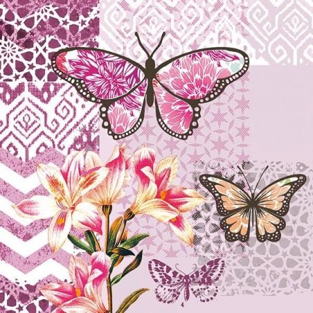 Serwetka - Motyle 2