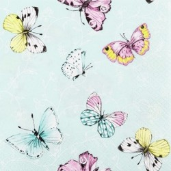Serwetka - Motyle 8
