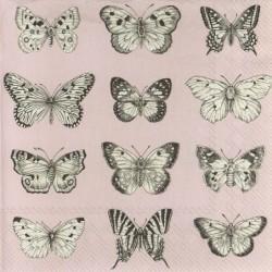 Serwetka - Motyle 28