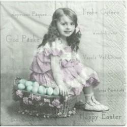 Serwetka - Wielkanoc vintage