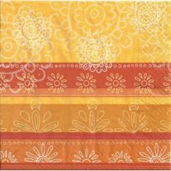 Serwetka - Pomarańczowo