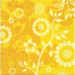 Serwetka - Na żółto