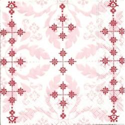 Serwetk a- Różowe ornamenty