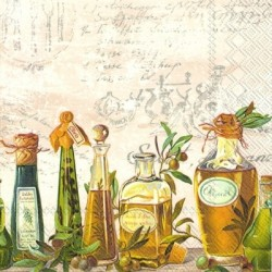 Serwetka - Olio di oliva
