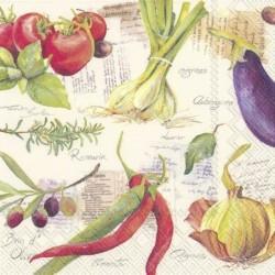 Serwetka - Warzywa 2