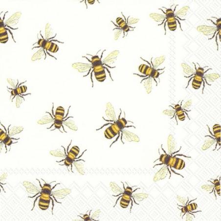 Serwetka - Pszczoły, mini