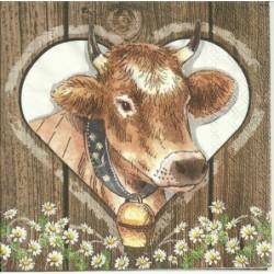 Serwetka - Krowa 1