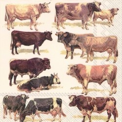 Serwetka - Krowy 2