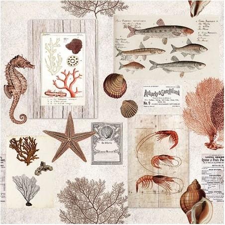 Serwetka do decouapage - W morzu