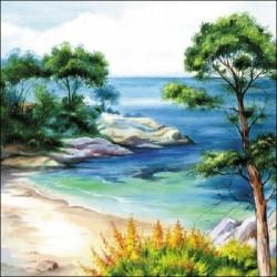 Serwetka - Morze