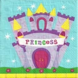 Serwetka do decoupage - Zamek księżniczki