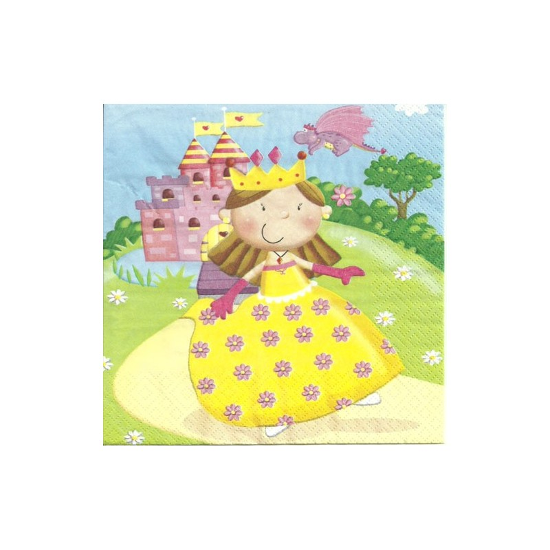 Serwetka do decoupage - Princess