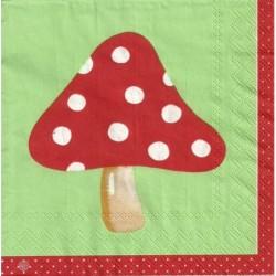 Serwetka - Czerwony muchomor