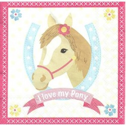 Serwetka do decoupage - Kucyk pony