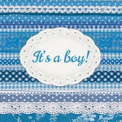 Serwetka do decoupage - It's a boy