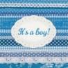 Serwetka do decoupage - It's a boy