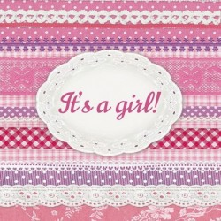 Serwetka do decoupage - It's a girl
