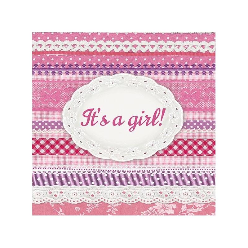 Serwetka do decoupage - It's a girl