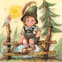 Serwetka - Chłopiec