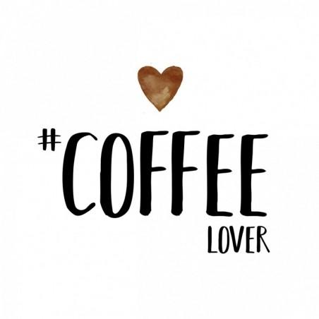 Serwetka do decoupage - Coffee lover