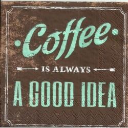 Serwetka do decoupage - Coffee a good idea 2, mini