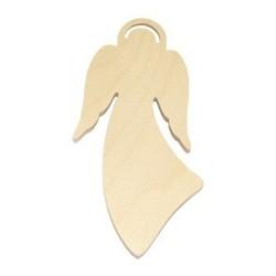 Anioł w aureoli 19,5 cm