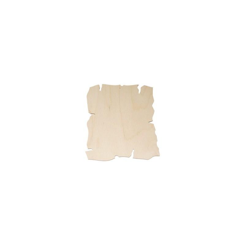Stylizowana deseczka kuchenna ze sklejki - baza do ozdabiania
