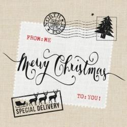 Serwetka do decoupage - Merry Christmas