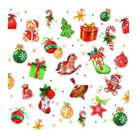 Serwetka do decoupage - Świąteczne dekoracje