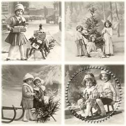 Serwetka do decoupage Sagen - Vintage 55