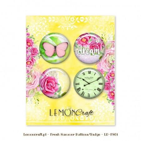 Badziki (buttons), Fresh Summer [Lemoncraft]