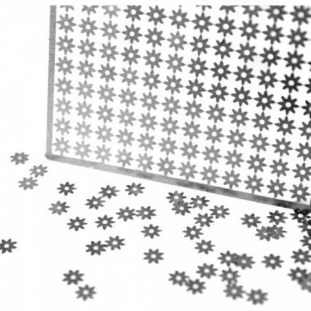 Metalowe kwiatki, Shaker Embellishments, Daisy [K101-12]