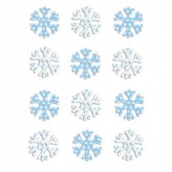 Śnieżynki samoprzylepne 12...