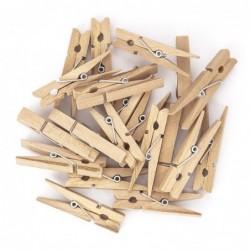 Klamerki drewniane 4.8 cm,...
