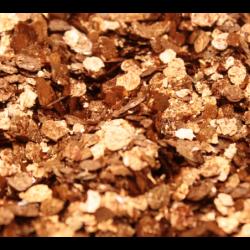 Mika naturalna w płatkach, złoto miedziane 10 g