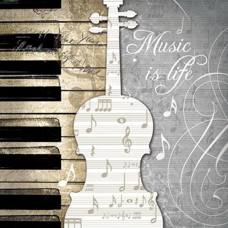 Serwetka - Music is life