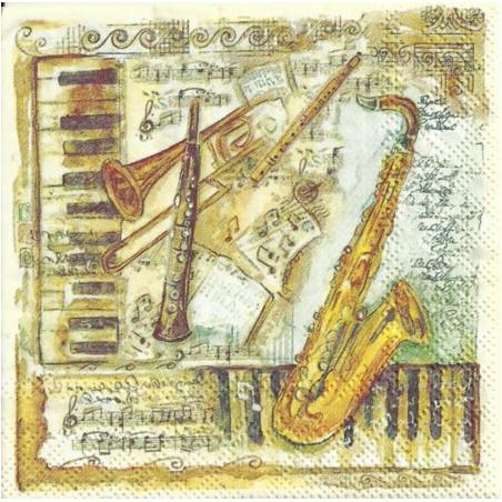 Serwetka - Instrumenty, mini