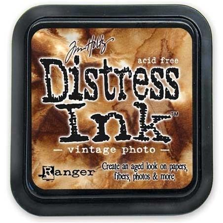 Tusz postarzający Distress Ink, Vintage Photo