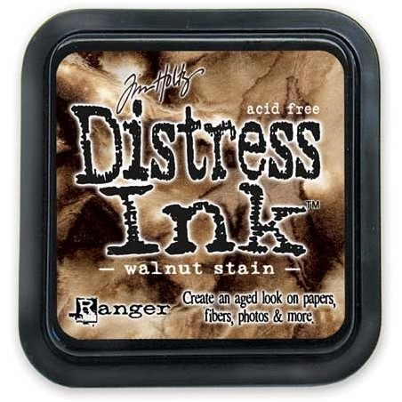 Tusz postarzający Tim Holtz Distress, Walnut Ink