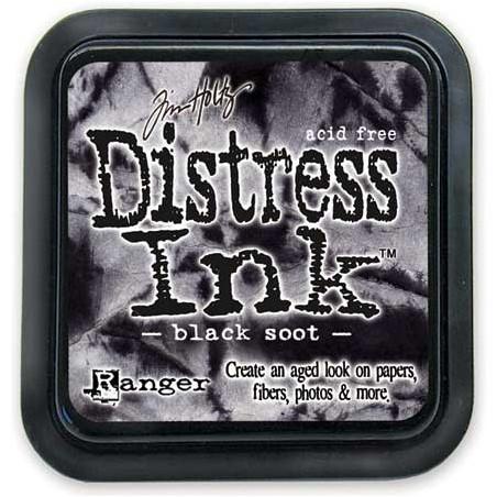 Tusz postarzający Distress Ink, Black Soot