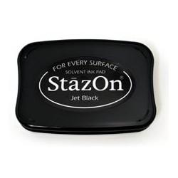 Tusz do stempli akrylowych - czarny StazOn
