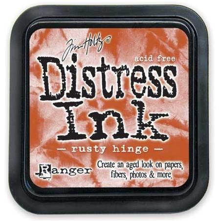 Tusz postarzający Distress Ink, Rusty Hinge