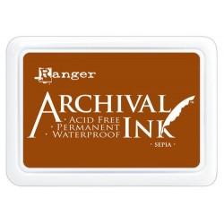 Tusz wodoodporny Archival, kolor Sepia